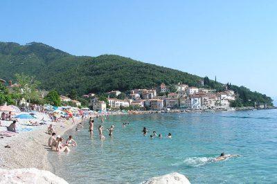 Moscenicka Draga-beach